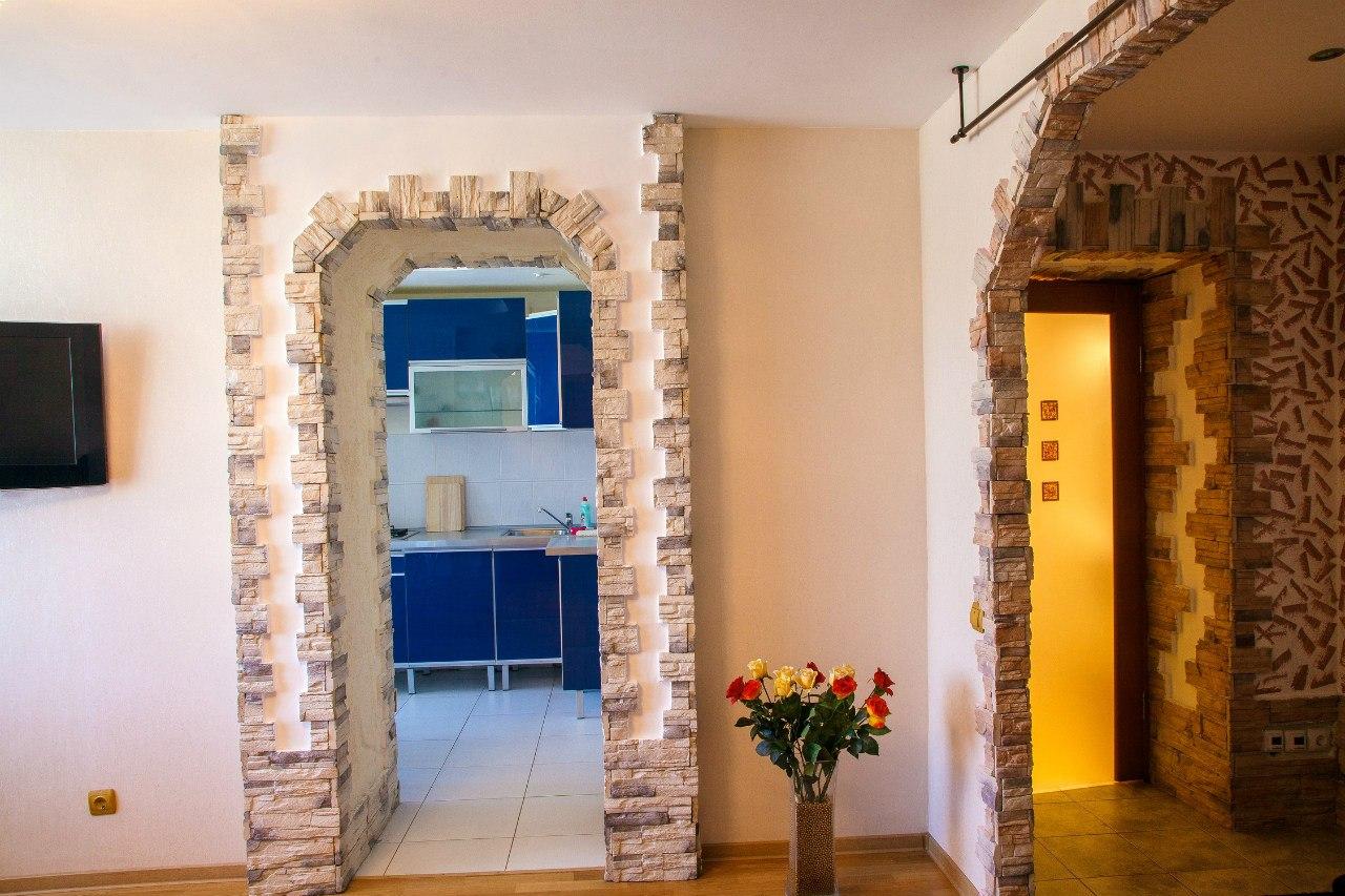 Декор арки в квартире фото своими руками